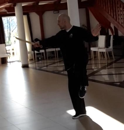 Piotr Ziemba - Tai Chi z szablą stylu Yang