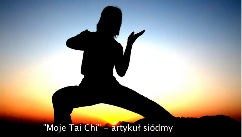 moje codzienne Tai chi