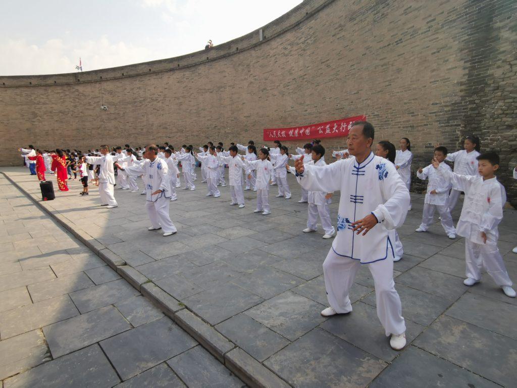 Tai Chi stylu Yang 5 kroków 8 metod