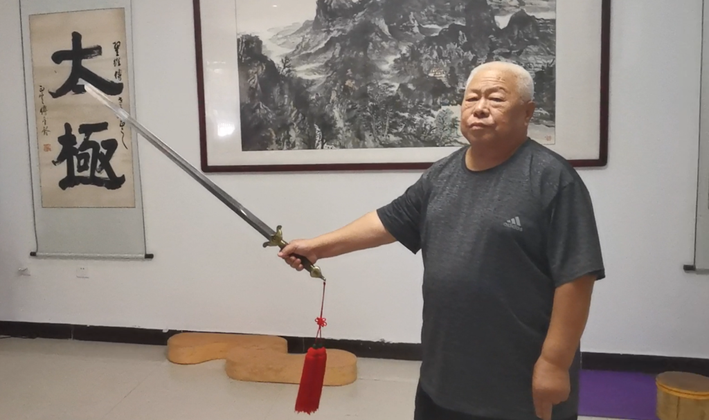 Miecz Wu Tai Chi Zhai Weichuan Guangfu